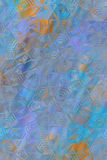 Textura colorida de vidro da superfície da parede de tijolo Foto de Stock