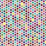 Textura colorida del modelo del fondo de Dot Grid Vector Object Fabric de la polca libre illustration