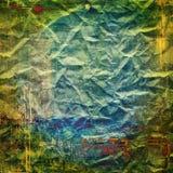 Textura colorida del papel del grunge Imagen de archivo