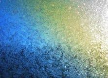 Textura colorida do gelo com brilho Imagens de Stock