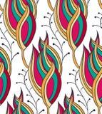 Textura colorida estilizada del elemento de la flor Fotos de archivo