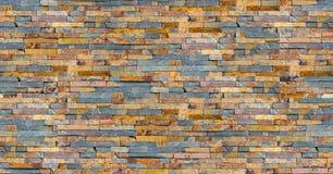 Textura colorida sem emenda da parede da ardósia imagem de stock