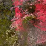 Textura colorido do grunge Fundo do vintage de testes padrões diferentes da cor Imagens de Stock Royalty Free