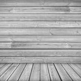 Textura com as pranchas de madeira cinzentas Imagens de Stock