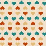 Textura com corações Imagem de Stock Royalty Free