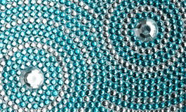 Textura com cristais fotos de stock