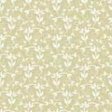Textura com elementos florais Fotografia de Stock Royalty Free
