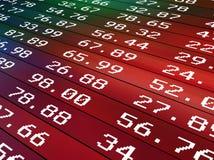 Textura com números Fotos de Stock