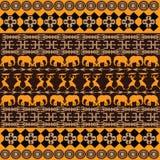 Textura com ornamento tradicionais Imagem de Stock