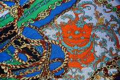 Textura com telas modeladas coloridas imagens de stock