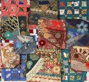 Textura compleja 1 del bordado Imagen de archivo libre de regalías