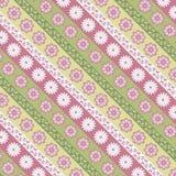 Textura con el modelo floral Fotos de archivo libres de regalías