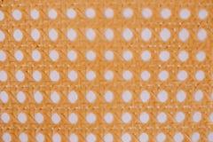 textura con la paja tejida a mano fotografía de archivo