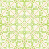 Textura con las hojas verdes Imagen de archivo