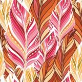 Textura con las plumas Fotos de archivo