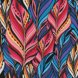 Textura con las plumas Imagenes de archivo