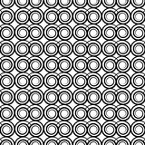 Textura con los elementos del remolino Fotografía de archivo libre de regalías