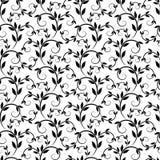 Textura con los elementos florales Imágenes de archivo libres de regalías
