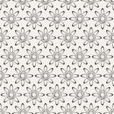 Textura con los elementos florales Fotos de archivo
