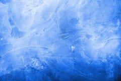 Textura concreta azul Fotos de archivo libres de regalías
