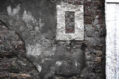 Textura concreta da parede de tijolo Imagens de Stock Royalty Free