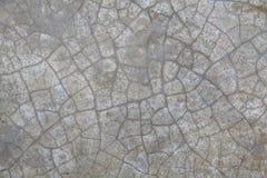 Textura concreta da rachadura Fotos de Stock
