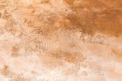 Textura concreta de la tierra de Siena fotografía de archivo