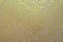 Textura concreta de oro para el papel pintado de la impresión Imágenes de archivo libres de regalías