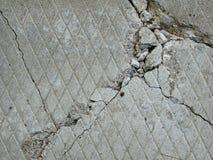 Textura concreta del ladrillo del cemento Imagen de archivo