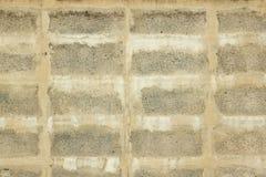 Textura concreta do bloco do tijolo do cimento Imagens de Stock Royalty Free