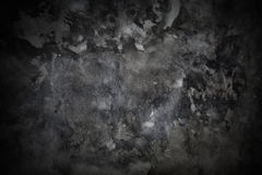 Textura concreta gris del grunge Imagen de archivo