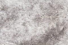 Textura concreta rústica Foto cinzenta da opinião superior de estrada asfaltada Textura afligida e obsoleta do fundo Fotografia de Stock