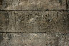 Textura concreta rachada da parede do vintage velha Fotos de Stock