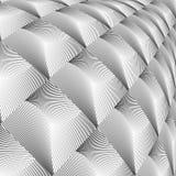 Textura convexa del diamante del diseño Imágenes de archivo libres de regalías