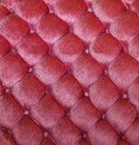 Textura copetuda rosada del fondo del terciopelo Foto de archivo libre de regalías