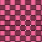 Textura cor-de-rosa da cesta ilustração royalty free