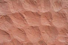 Textura cor-de-rosa da parede Fotos de Stock Royalty Free