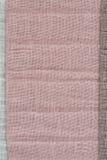 Textura cor-de-rosa da tela foto de stock royalty free