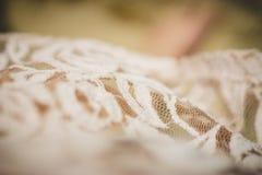 Textura cor-de-rosa da tela Fotografia de Stock Royalty Free