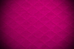 Textura cor-de-rosa da tela Imagens de Stock