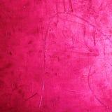Textura cor-de-rosa do fundo do Grunge - ` vermelho colorido vibrante do Valentim Fotos de Stock