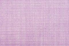 Textura cor-de-rosa roxa do macro da camisa de algodão Foto de Stock