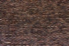 Textura cray velha do telhado Imagens de Stock