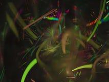 Textura creativa de la tarjeta del fractal, fondo digital de moda del misterio futuro del poder de la idea, fantasía del hermoso  imagen de archivo libre de regalías