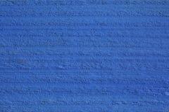 Textura cruda pintada azul de madera Fotos de archivo