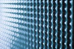Textura cuadrada de cristal Foto de archivo libre de regalías