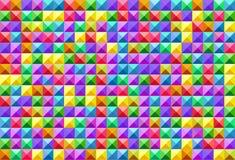 Textura cuadrada inconsútil Fotos de archivo