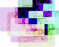 Textura cuadrada irregular Foto de archivo libre de regalías