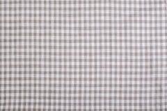 Textura a cuadros del mantel Imagen de archivo libre de regalías