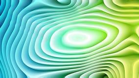 Textura curvada azul y verde del fondo libre illustration